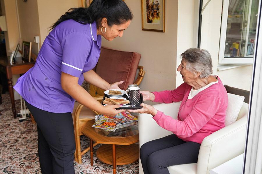 Dementia care for the elderly in Folkestone